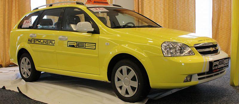 Оклейка виниловой пленкой такси